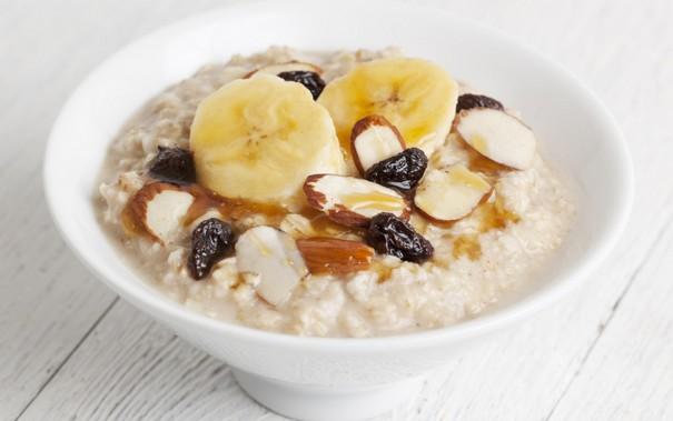 Fiber rich oats toppings