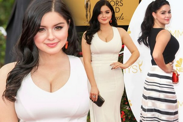 Ariel Winter is Not Ashamed to Show Her Scars