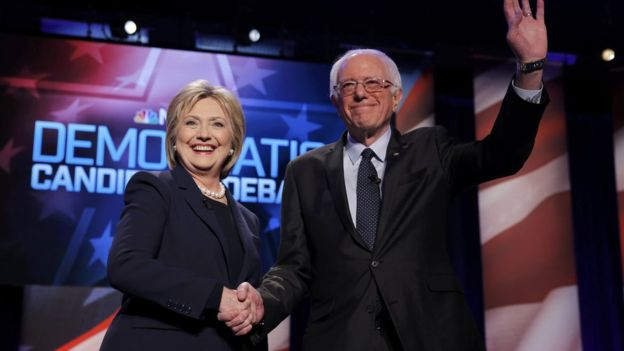 Clinton and Sanders Clash in the First One-on-one Debate