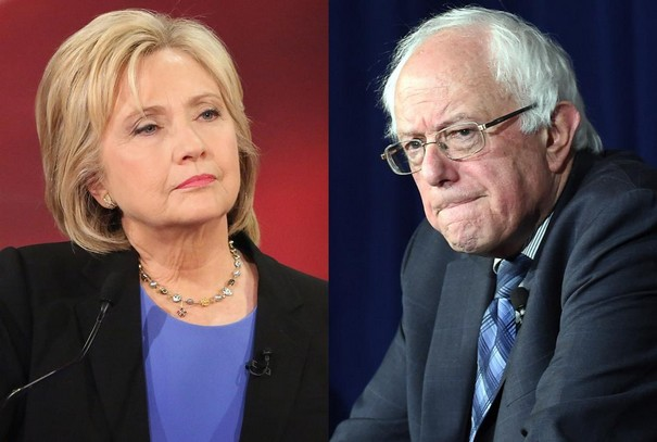 Clinton and Sanders prepare for pitched battle after Iowa