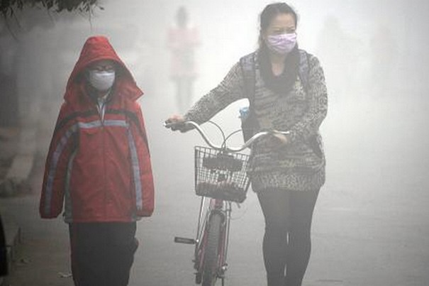 Every year five million people are killed by Air pollution