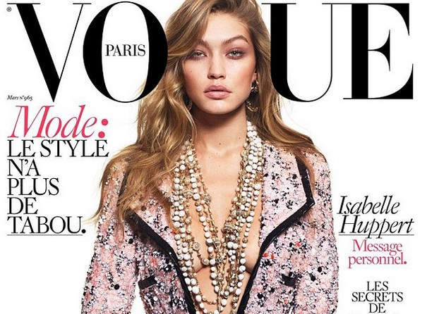 Gigi Hadid bares all for the latest issue of French magazine