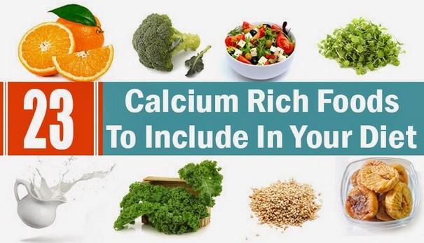 Iron, vitamins, calcium food