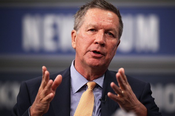 Republican candidate John Kasich shows surprising popularity on Google Trends