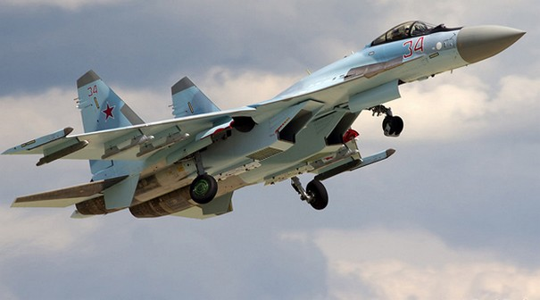 Russia Introduces Su-35s fighter Jets in Syria
