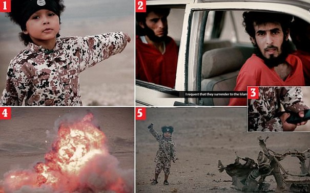 Shocking ISIS video dubs four year old British child as Jihadi Junior