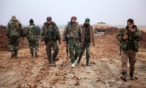 Syrian Forces Take Besieged Towns