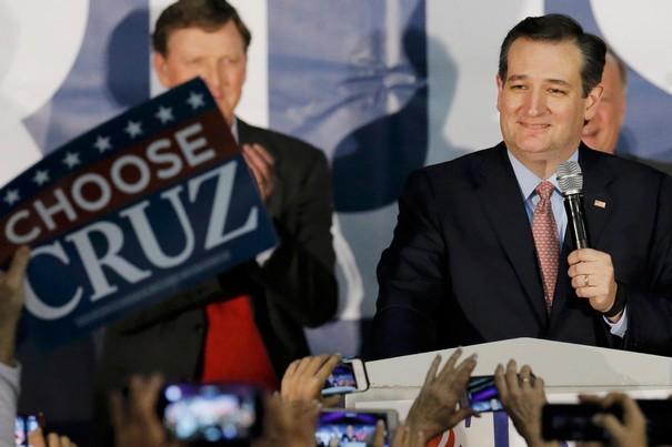Texas Senator Ted Cruz Wins Iowa Republican vote