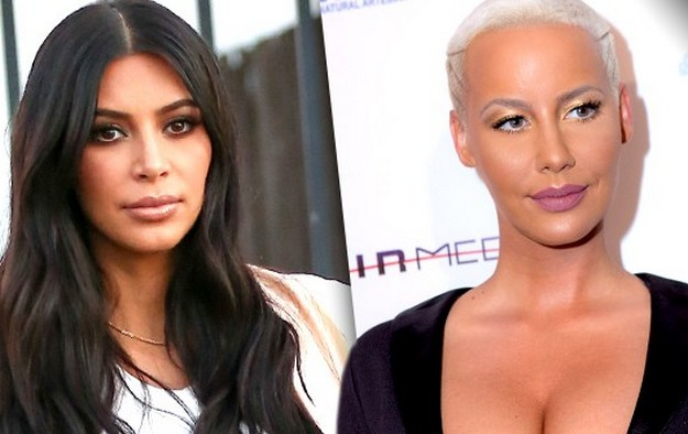 Amber Rose Again Comes To Kim Kardashian's Rescue