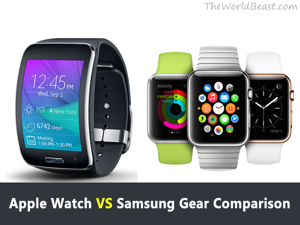 Apple Watch VS Samsung Gear Comparison