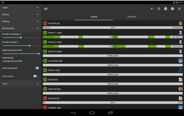 Best Internet Download Manager For Android Advance Download Manager