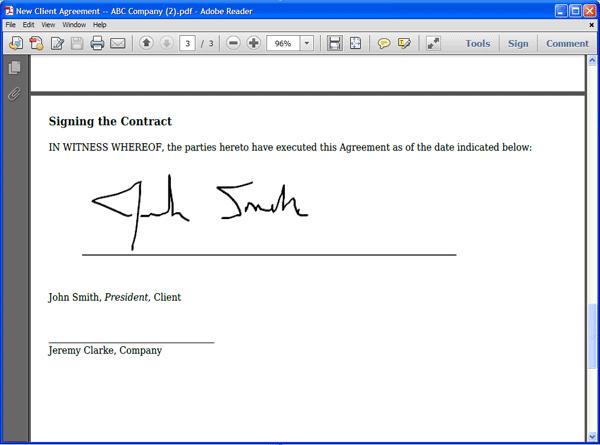 How to Create Signature in PDF File Image