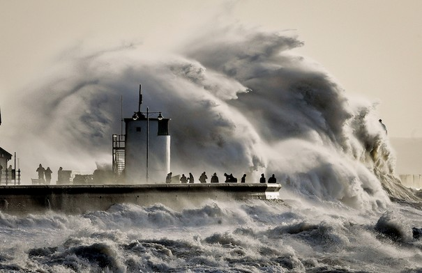 Latest Climate Report warns of Huge Storms and Rising Sea Levels