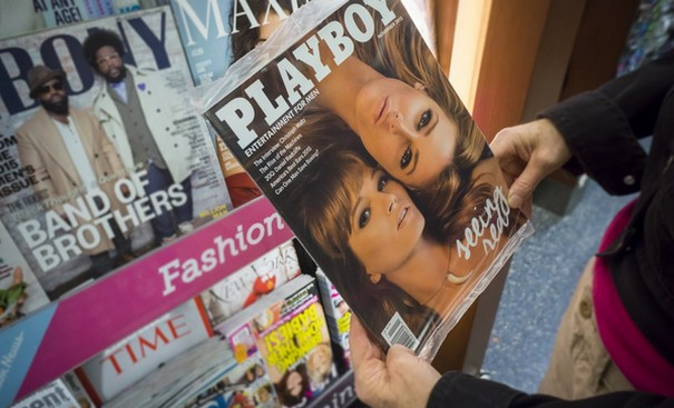Playboy magazine prepares for sale