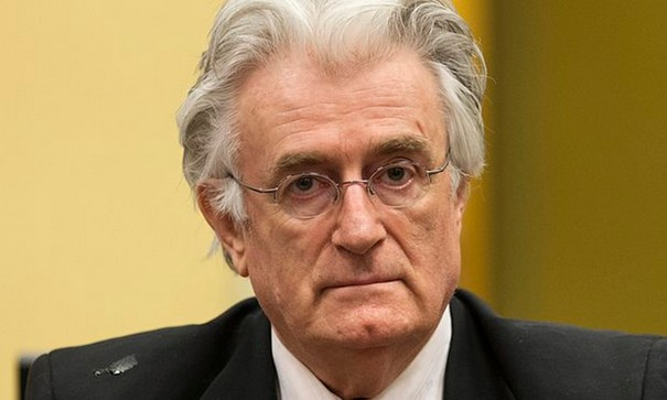 Radovan Karadzic handed down a 40 year sentence for committing genocide