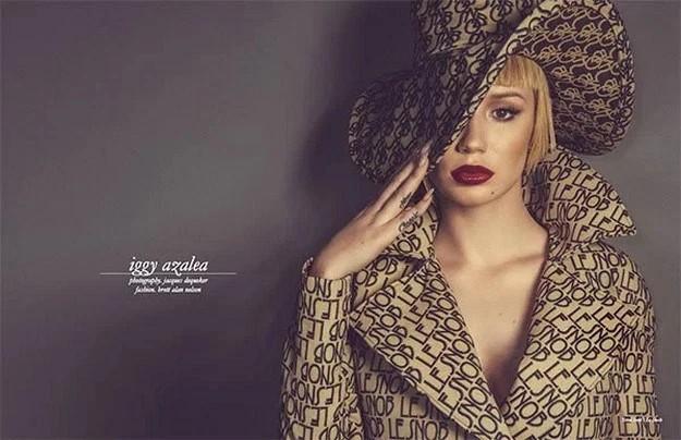 Schon Magazine features Iggy Azalea's uncensored photoshoot