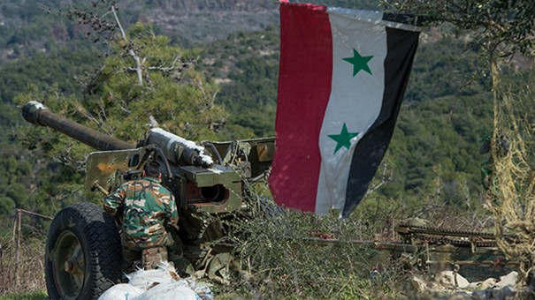 Syrian Army Confronts Daesh in Homs