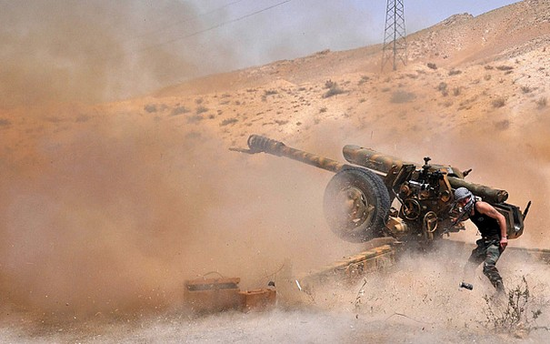 Syrian Army Takes Back Palmyra from the Islamic State