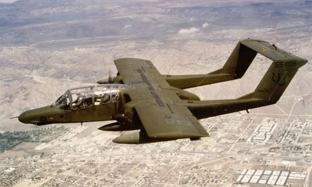 US Army pound ISIS with Vietnam War era planes