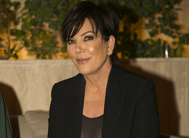 Kris Jenner Flaunts Assets during Business Presentation