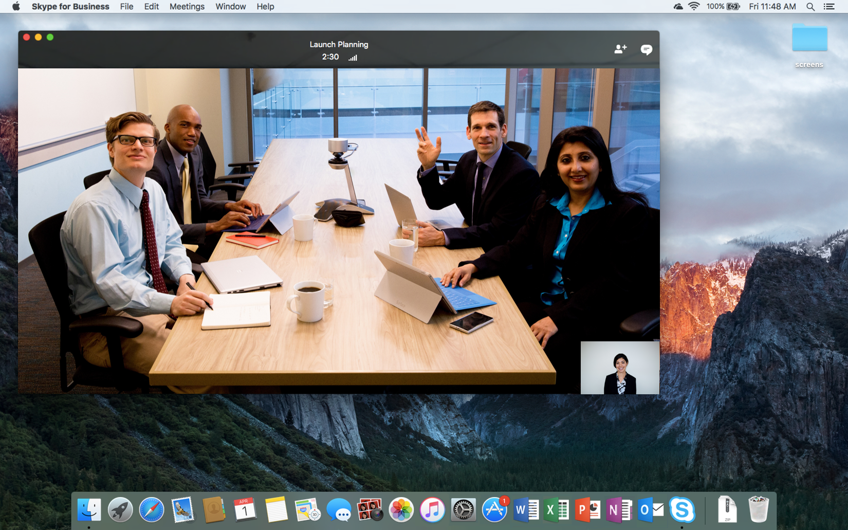 New opportunity for Mac Users, Skype Presented For Business Preview