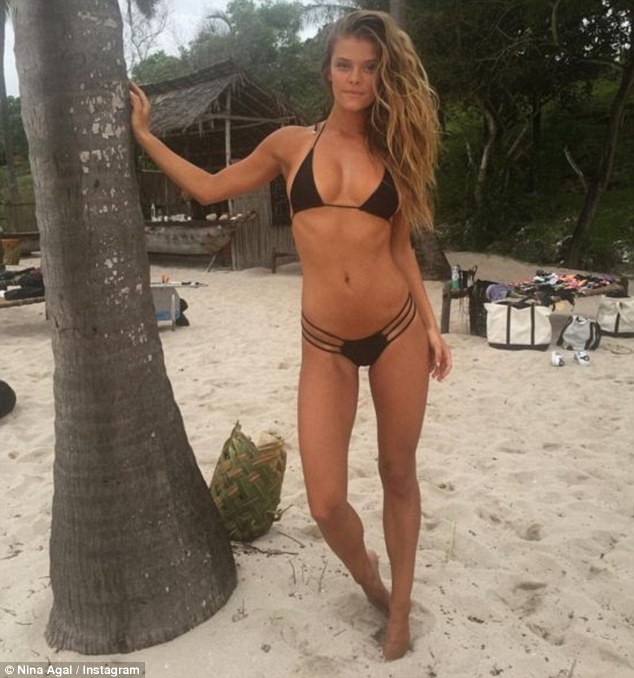 Swimsuit Model Posts Throwback Photos on Social Media