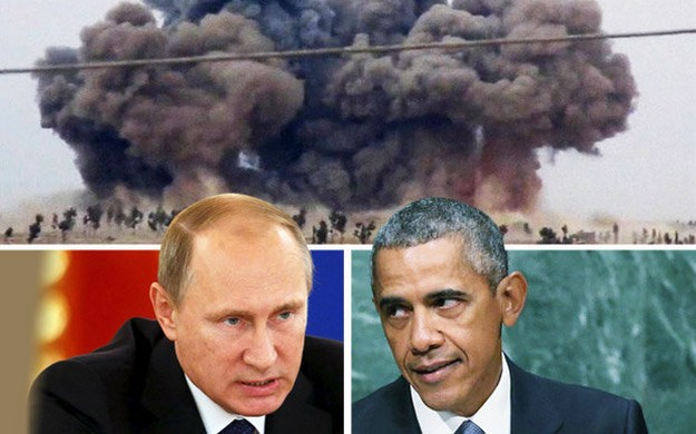 US and Russia facing off in Syria
