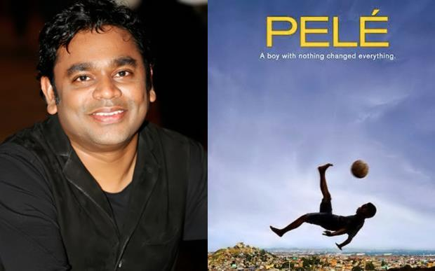 Check out the new music score of A.R Rahman for 'Pele: Birth of a Legend'