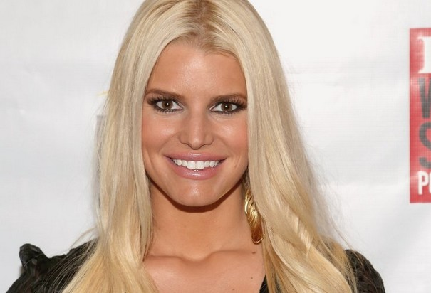 Jessica Simpson breast