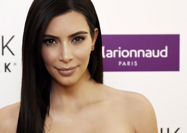 Kim Kardashian breast