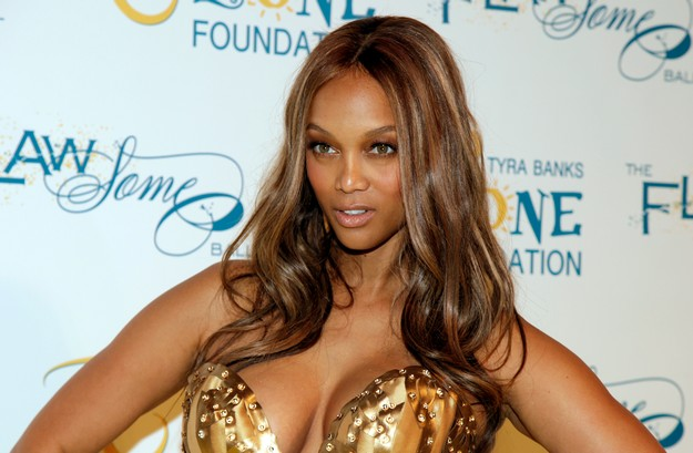 Tyra Banks breast