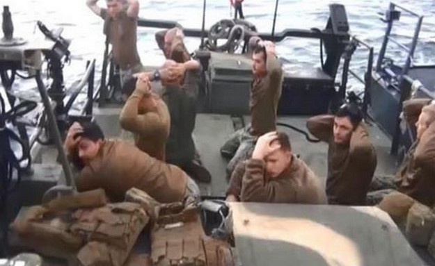 US sailors detained by Iran