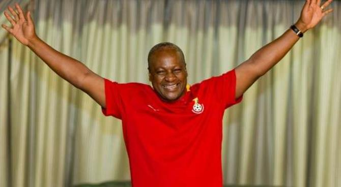 Ghana's President Will Play in Vodafone Unity Match