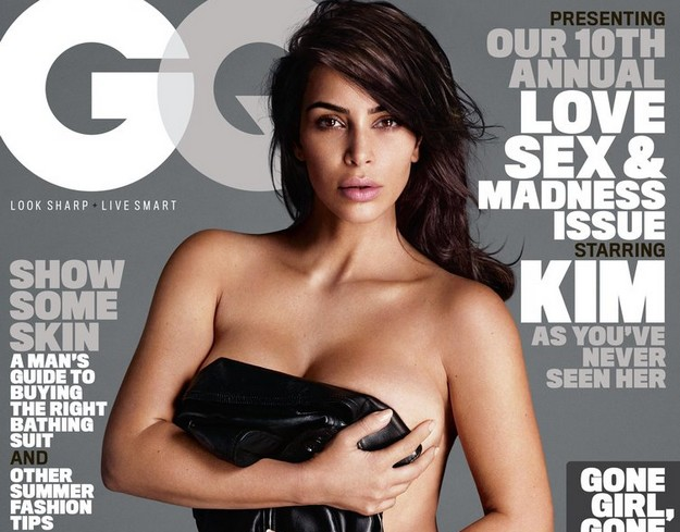 Kim Kardashian Nude Cover PhotoShoot For GQ Magazine