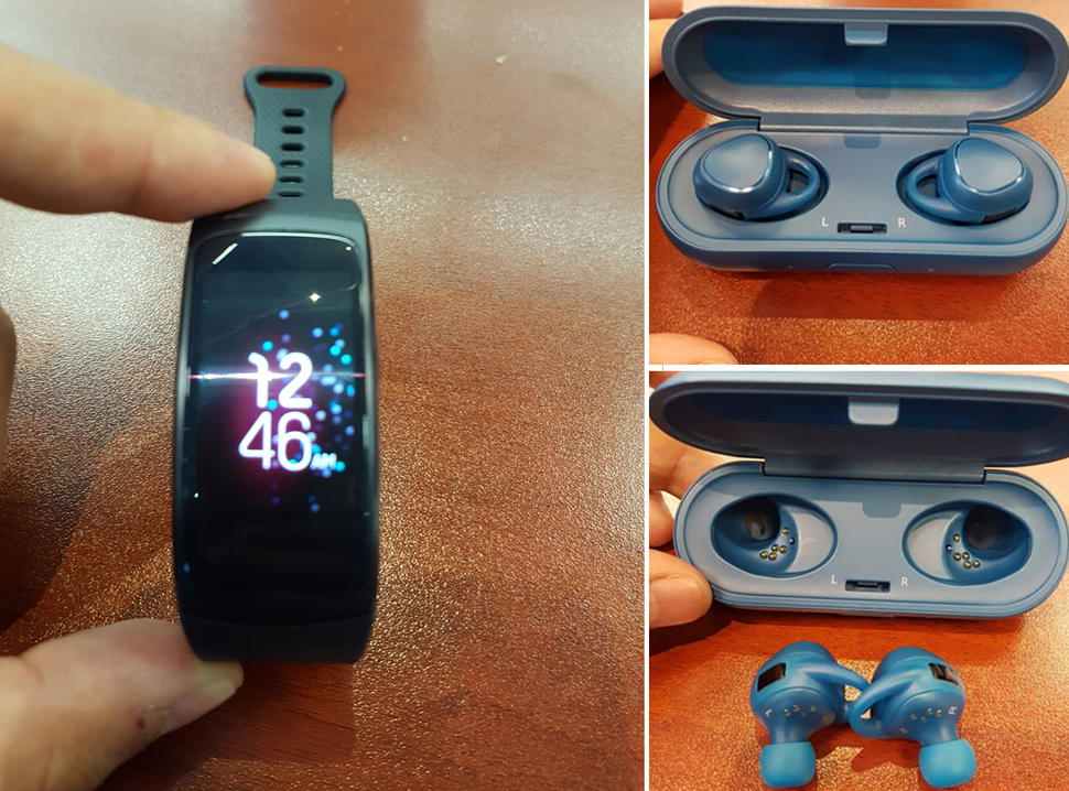 New Features of Samsung Gear Fit 2 and Icon X