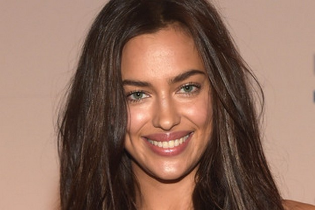 Hot Model Irina Shayk fires up magazine cover with oil