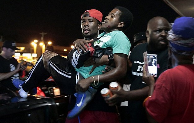 Michael Brown Death Anniversary mired in chaos