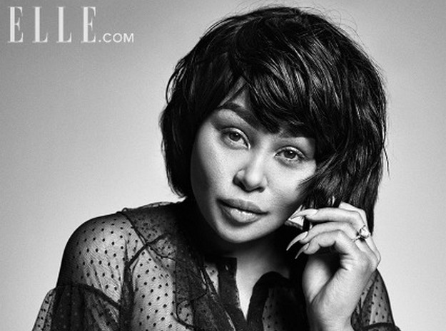 Pregnant Blac Chyna graces the latest cover of Elle magazine