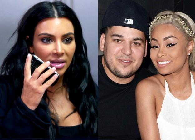 Kim Kardashian fights with Blac Chyna success