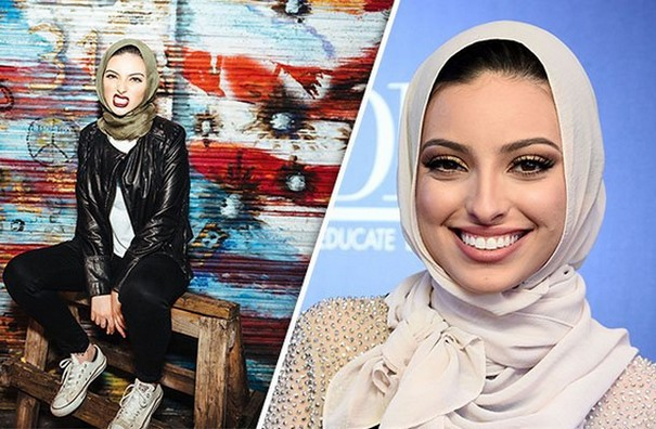 Muslim Woman in Hijab graces Playboy magazine