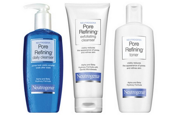 Neutrogena Pore Refining Cleanser alpha hydroxy acid