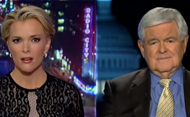 Newt Gingrich accuses Megyn Kelly