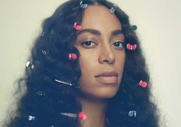 Solange Knowles featured in gold body paint in her new music video