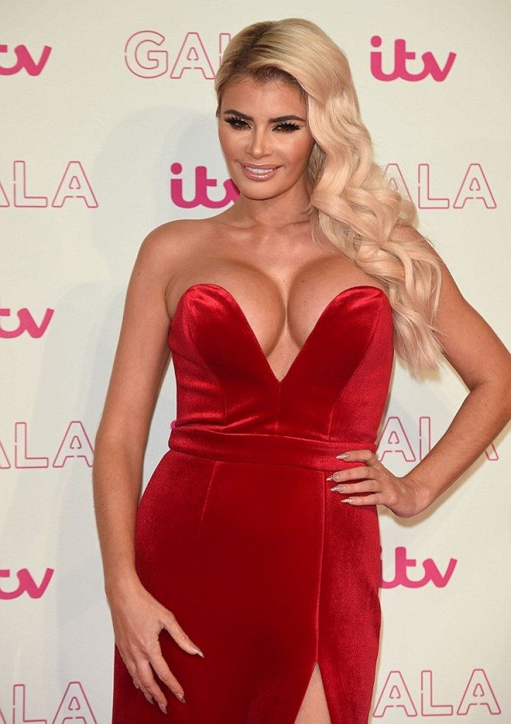 Chloe Sims Nip Slip ITV Gala