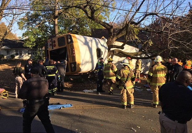 Horrible Bus Crash in Tennessee