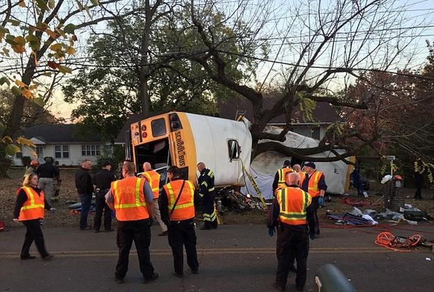 Horrible Bus Crash