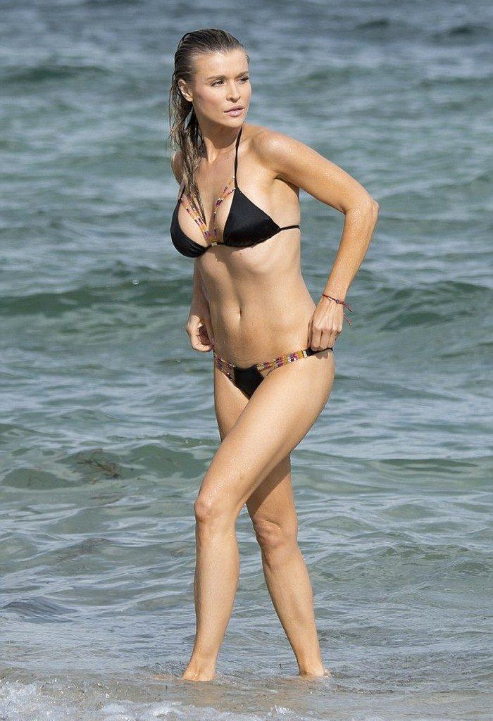 Joanna Krupa Beach Bikini Photos