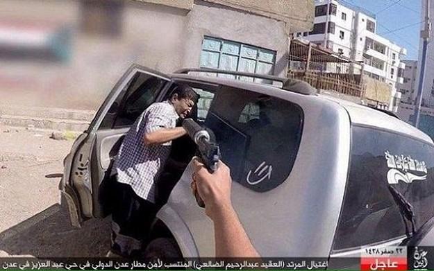 isis Execution Yemeni colonel