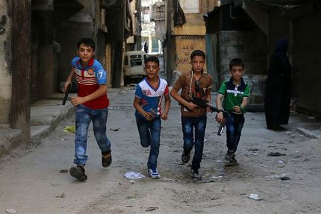 Aleppo Syria: Children of War