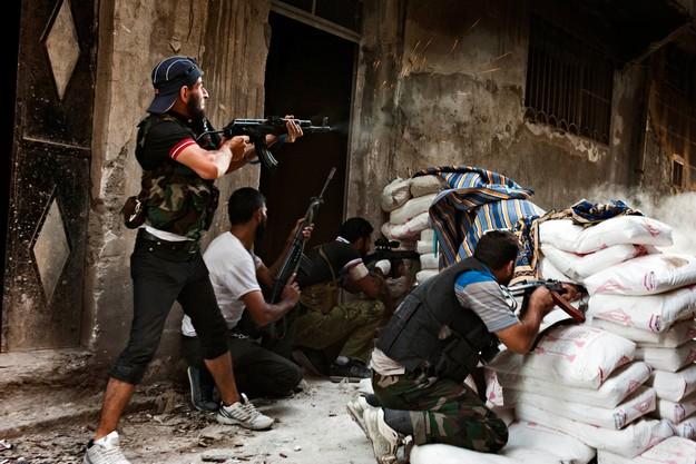 Aleppo war